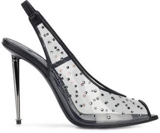Tom Ford gemstone slingback sandals