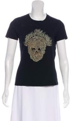 Alexander McQueen Short Sleeve Graphic Print T-Shirt