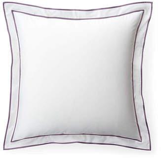 Lauren Ralph Lauren Spencer Border Euro Sham - White/Lavender