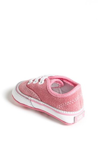 Vans 'Authentic' Crib Shoe (Baby)
