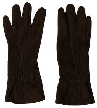 Barneys New York Barney's New York Suede Short Gloves