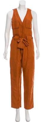 Rachel Comey High-Rise Sleeveless Jumpsuit
