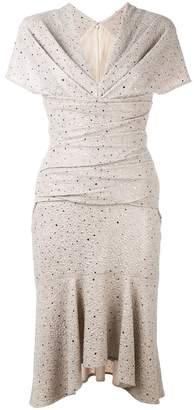 Talbot Runhof ギャザードレス