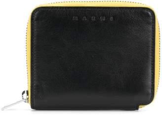 Marni contrasting inner wallet