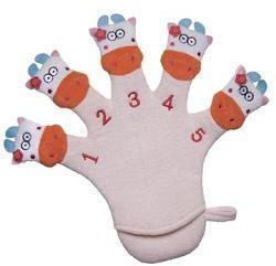 Kingsley Cow Terry Wash Glove
