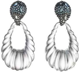 Alexis Bittar Rope Teardrop Earrings