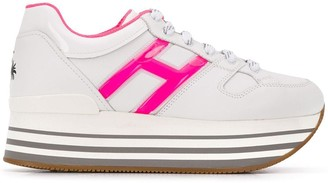 Hogan platform sole sneakers