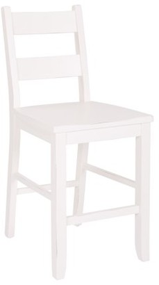 Inspired by Bassett Kitchen Counter Matching Stool in White
