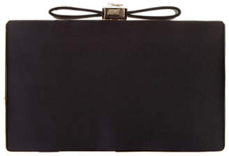 Adrianna Papell Minaudiere Bow Clutch Bag, Black