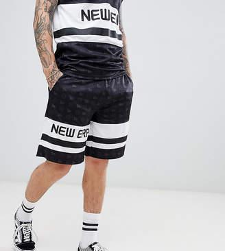 New Era Mesh Shorts In Black Exclusive To Asos