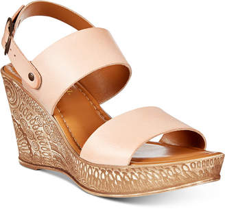 Bella Vita Cor-Italy Wedge Sandals Women's Shoes