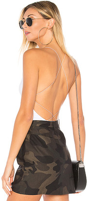 by the way. Allison Strappy Back Bodysuit
