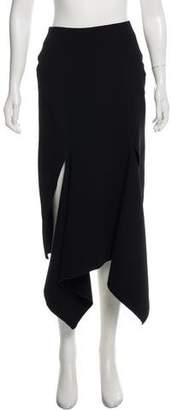 Dion Lee Asymmetrical Knee-Length Skirt