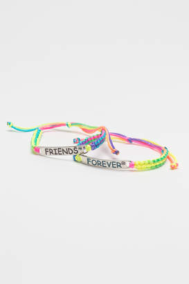 Ardene BFF braided bracelet