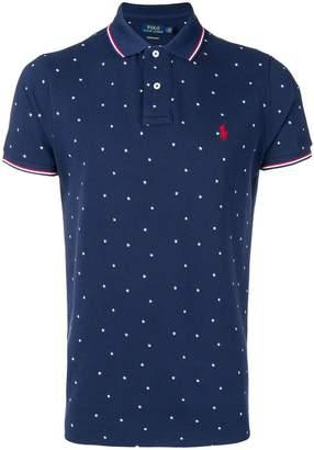 Polo Ralph Lauren star pattern polo shirt