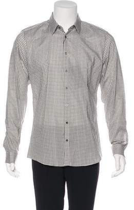 Gucci Gingham Check Shirt w/ Tags
