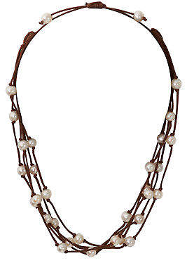 Lush NEW Designs Womens Necklaces Boho Strand Necklace Size OneSize Brown