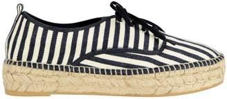 Loeffler Randall Alfie Espadrille Striped Platform Sneakers