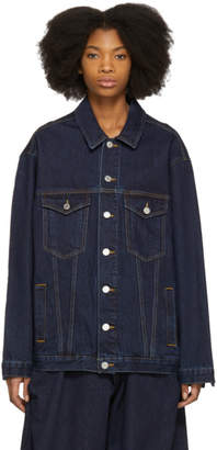 Martine Rose Indigo Oversized Denim Jacket
