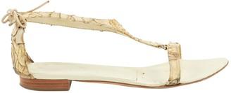 Helmut Lang Python Sandals
