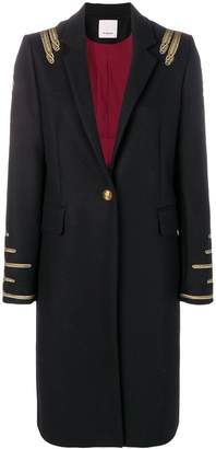 Pinko military style coat