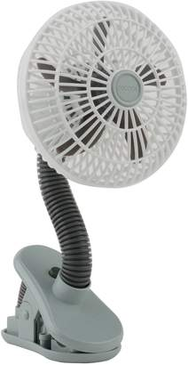 O2COOL 4-Inch Portable Stroller Clip Fan in Grey