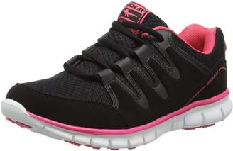Gola Active Termas 2 Black Womens Fitness Sneakers, Size 9