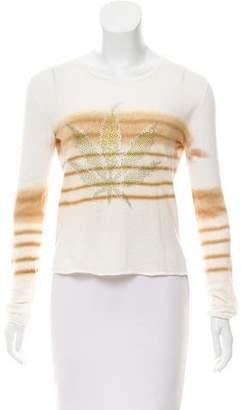 Lucien Pellat-Finet Embellished Long Sleeve Top