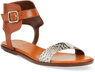Cole Haan Barra Snake-Print Sandals
