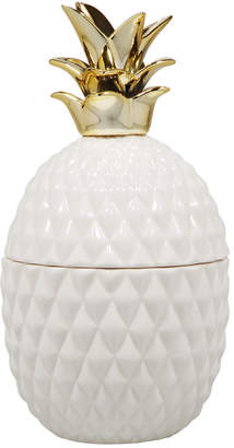 Home Essentials 8In Gold Crown Pineapple Box