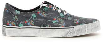 Palm Angels Distressed Palms Sneakers