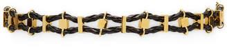 Noir Snake Gold Necklace