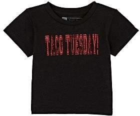 "Little DiLascia Infants' ""Taco Tuesday"" T-Shirt - Black"