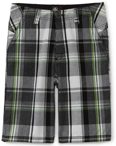 Micros Boys 8-20 Hassel Plaid Short