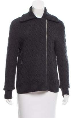 Ralph Lauren Black Label Cashmere Cable Knit Cardigan
