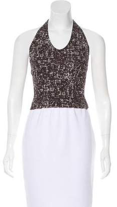 Kenneth Cole Printed Halter Top
