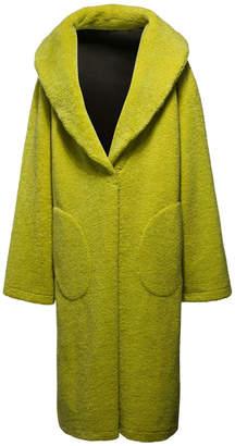 FENTY PUMA by Rihanna Faux-Shearling Snap Coat