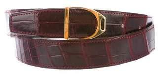 Hermes Alligator Etrier Belt Kit