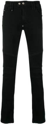 Philipp Plein Biker Statement skinny jeans