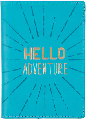 Eccolo Hello Adventure Vegan Leather Passport Case