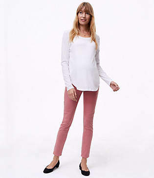 LOFT Petite Maternity Skinny Jeans