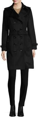 Burberry Women's Wool Spread Collar Coat