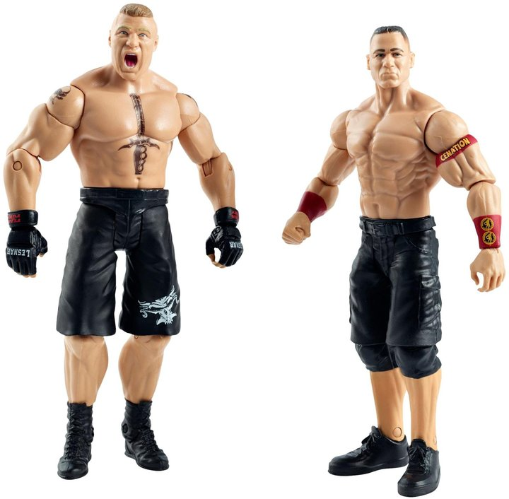 Mattel WWE Summer Slam John Cena & Brock Lesnar 2-Pack