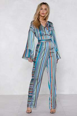 Nasty Gal Jump the Line Striped Pants