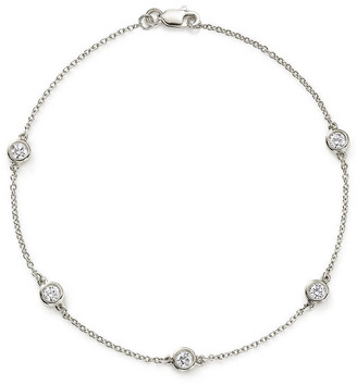 LeVian Suzy Diamonds Suzy By The Yard 14K 0.75 Ct. Tw. Diamond Station Bracelet