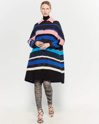 Missoni Striped Wool-Blend Coat