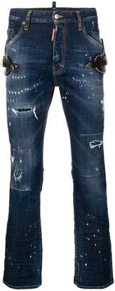 DSQUARED2 mid-rise regular jeans