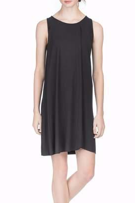 Lilla P Drape Front Dress