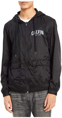 Calvin Klein Jeans Men's Team CK Windbreaker Jacket