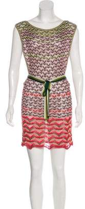 Missoni Mini Printed Knit Dress